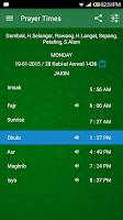Screenshot of Waktu Solat -Kiblat, Azan, Doa