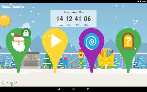 Google Santa Tracker - screenshot thumbnail