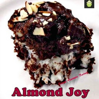 Gold Miner's Almond Joy Cake.