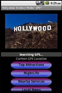 Hollywood Travel Guide GPS screenshot 0