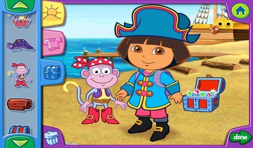 Dora's Dress-Up Adventures HD