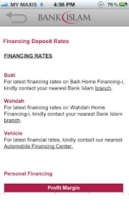 Bank Islam - screenshot thumbnail