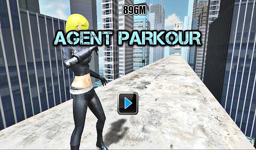 Agent Parkour- Crazy Edge Dash
