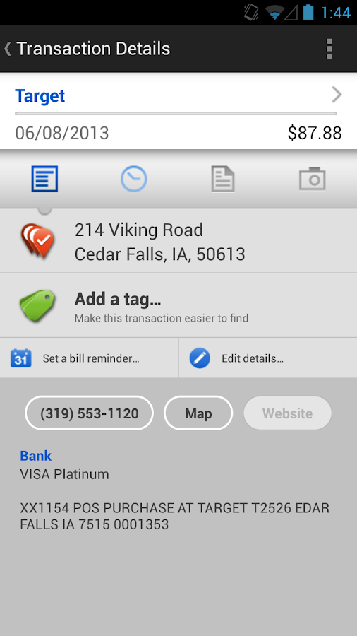 Battle Lake Bank Mobile - screenshot