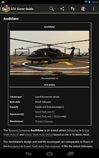 GTA V: Guide & Cheats - screenshot thumbnail