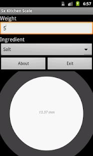 Kitchen Scale- screenshot thumbnail