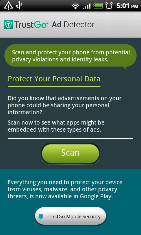 TrustGo Ad Detector - screenshot
