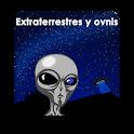 Extraterrestres y ovnis (ufo) icon