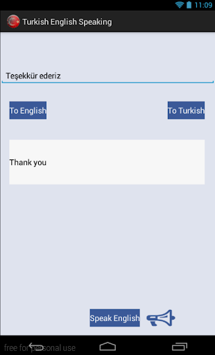 Turkish English Audio