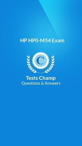 HP0-M54 Exam Quick Assessment