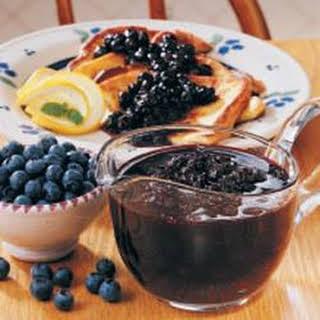 Blueberry Breakfast Sauce.