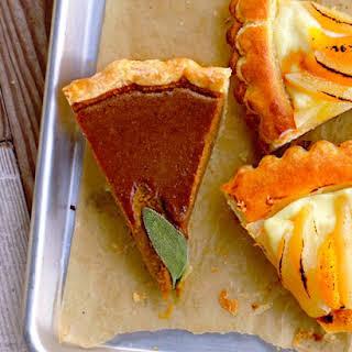 Heirloom-Squash and Pumpkin Pie.