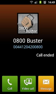 0800 Buster Lite - screenshot thumbnail