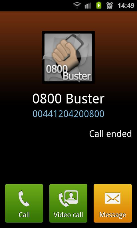 0800 Buster Lite- screenshot
