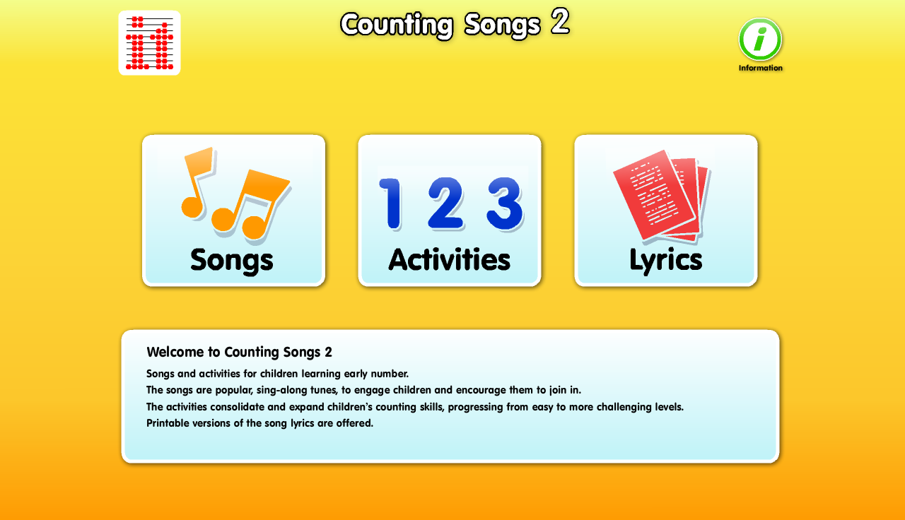 Counting Songs 2- screenshot
