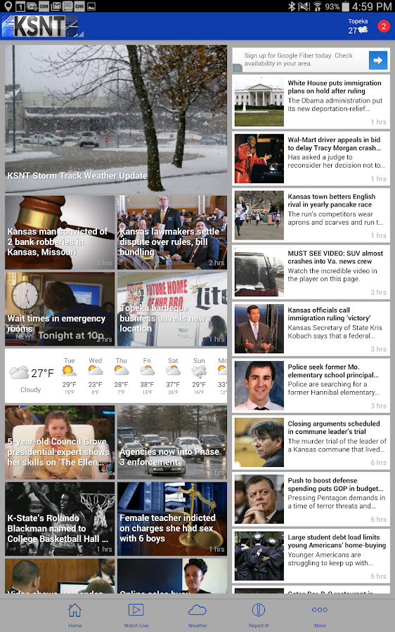 KSNT Kansas First News- screenshot