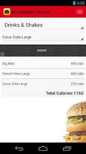 Fast Food Calorie Counter - screenshot thumbnail