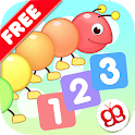 Toddler Counting 123 Kids Free icon