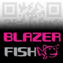BlazerFish QR logo