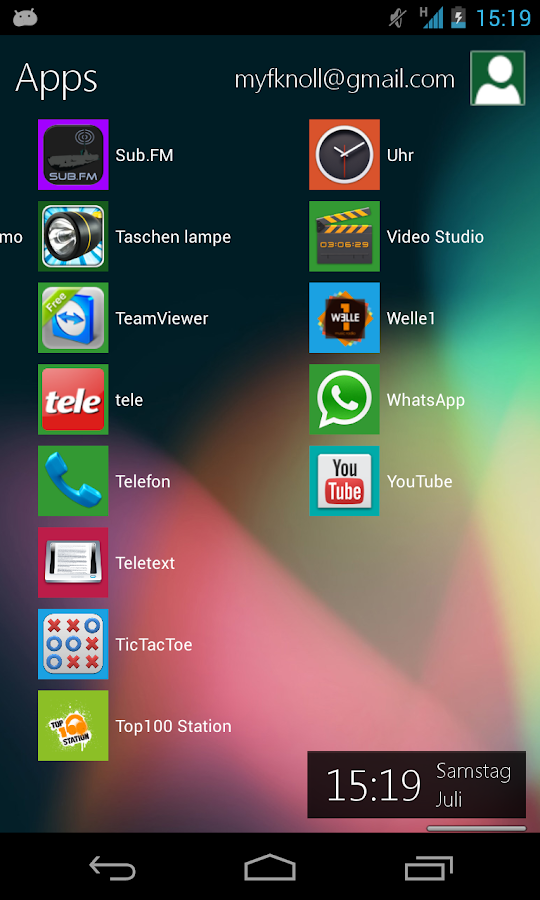 Metro UI Launcher 8.1- screenshot