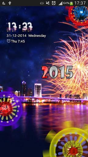 New Year GO Locker Theme