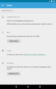 Google Apps Device Policy- screenshot thumbnail