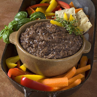 Easy Black Bean Dip.