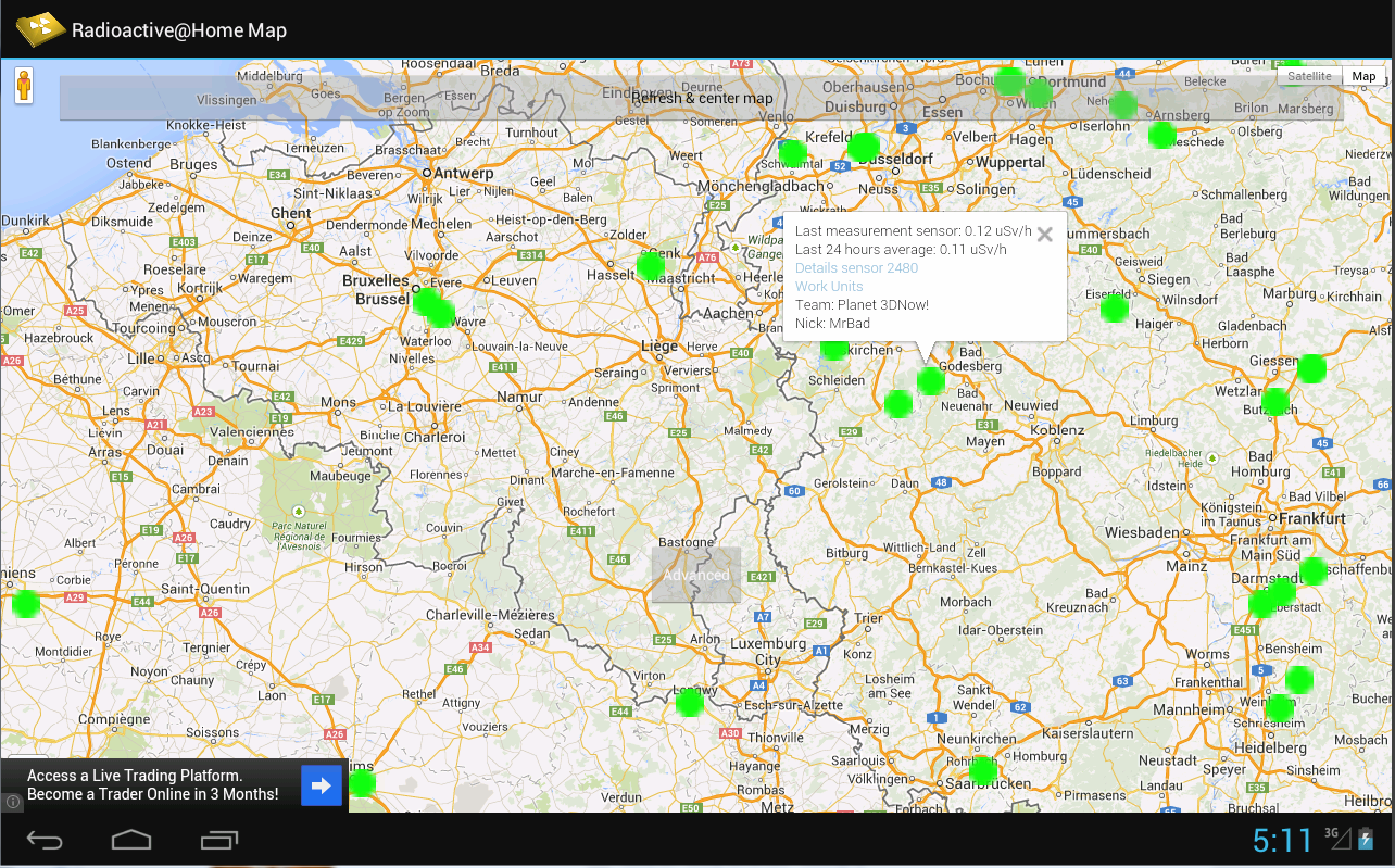 Radioactive@Home Map - Android Apps on Google Play