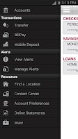 Screenshot of Bank of Arkansas Mobile