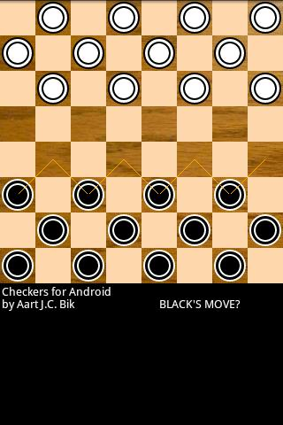 Checkers for Android - screenshot