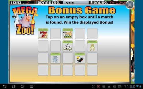 Mega Zoo Slot Machine - screenshot thumbnail