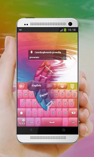 孔雀顏色 GO Keyboard
