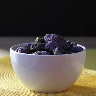 Browned Butter Purple Cauliflower.
