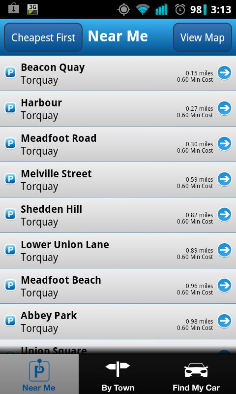 Car Park Finder - screenshot
