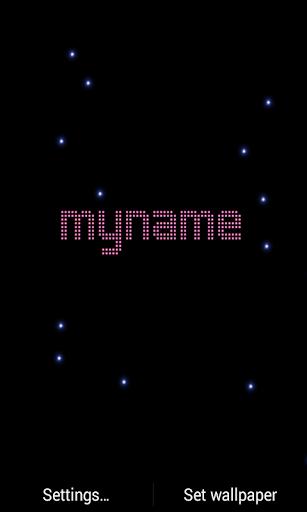 My Name LED