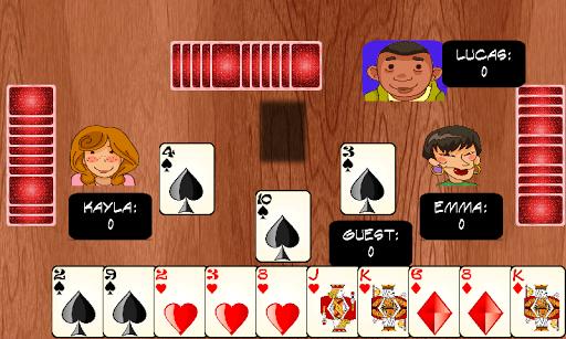 하트 카드 게임