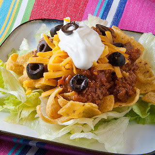 Hot Taco Salad.