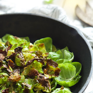 Crispy Ranch Brussels Sprout Chips