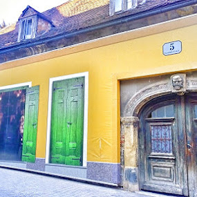 Zagreb as it was by Lejla Hadziabdic - Buildings & Architecture Public & Historical ( #old #architecture #building #colors #zagreb #croatia )