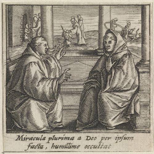 Mirakels Van De Heilige Bernardus Van Clairvaux Raphaël