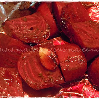 Baked Beets.