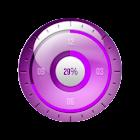 Elegant Pink Clock UCCW Skin icon