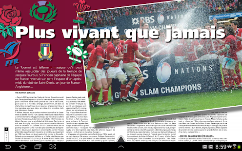 Midi Olympique – Vos journaux rugby avec le Midol - náhled