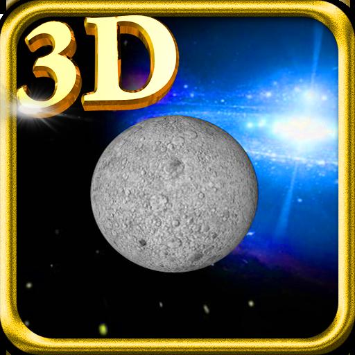 3D Lune Live Wallpaper LOGO-APP點子