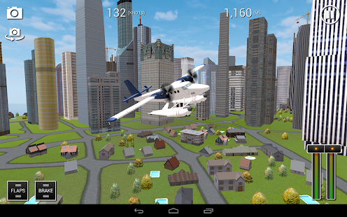 Flight Sim SeaPlane City