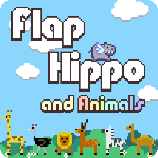 Flap Hippo and Animals