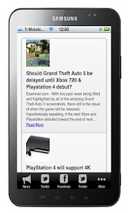 Playstation 4 News - screenshot thumbnail