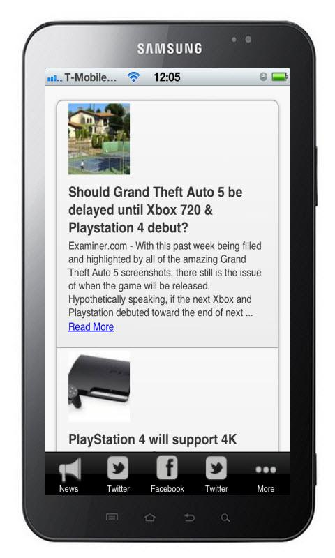 Playstation 4 News - screenshot