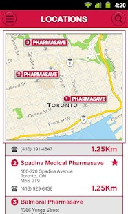 eCare@Pharmasave- screenshot thumbnail