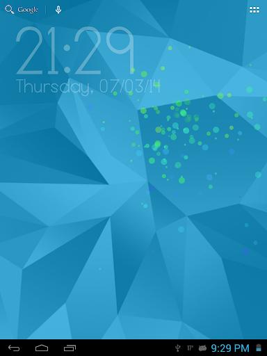 Galaxy S5數字時鐘